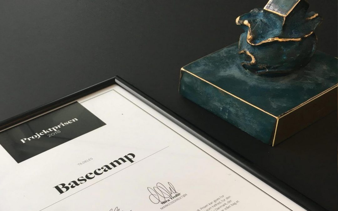 Basecamp Lyngby awarded 1. Prize for best project in Denmark