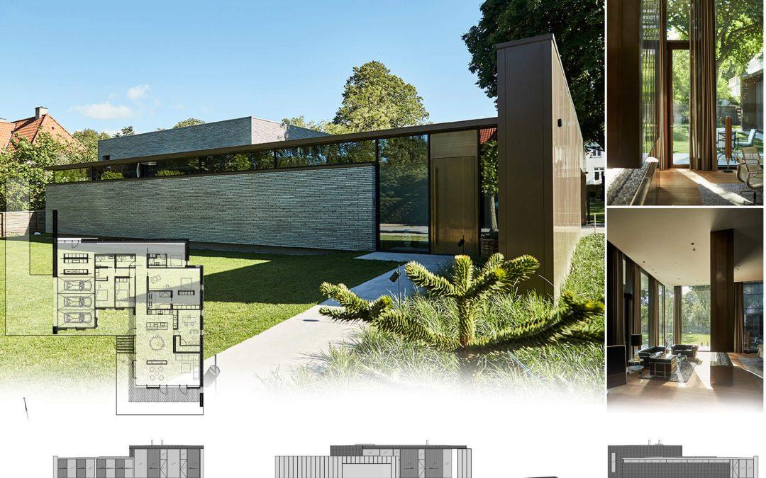 Villa Klindt awarded arhitectural 1. Prize