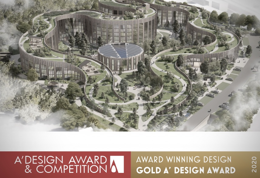 Basecamp Lyngby awarded the A´DESIGN Gold Award
