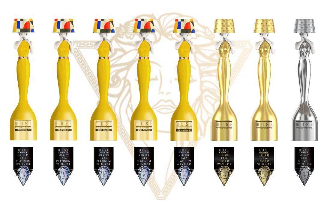 8 X MUSE World Award Winner